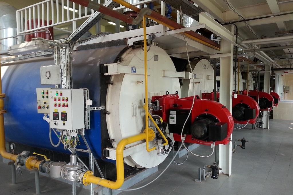 газовое оборудование котельных